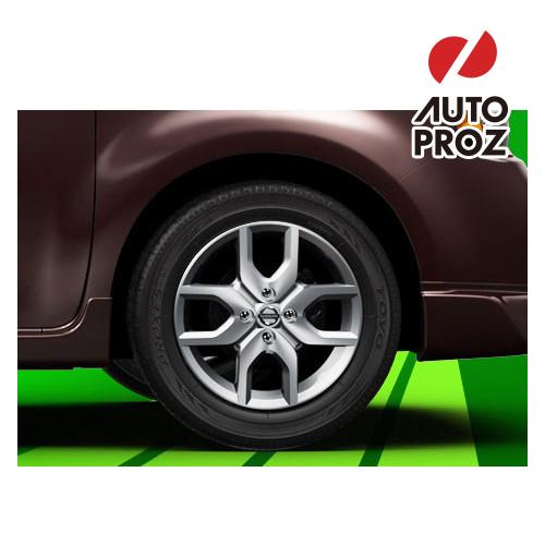 【US日産直輸入純正品】Nissan Cube 日産 キューブZ12型に適合16インチ アルミホイール(シルバー)※ホイール4本セット