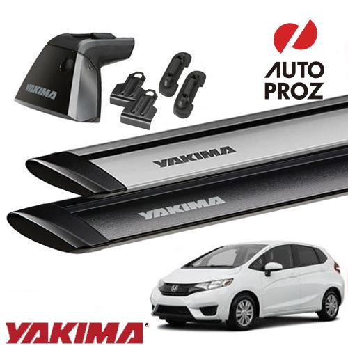Auto Proz Rakuten Ichiba Yakima Honda Fit Base Rack Set Baseline Clip Based 156165 Jetstream Bar S Global Market