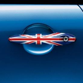 【USミニ 直輸入純正品】 MINI Cooper Hardtopミニクーパーユニオンジャックドアハンドル 左右