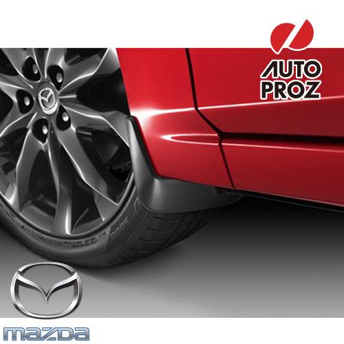 【USマツダ 直輸入純正品】 Mazda3 マツダ3 2014年(AXELA アクセラ)マッドガード/スプラッシュガード(泥除け) フロント/リアセット
