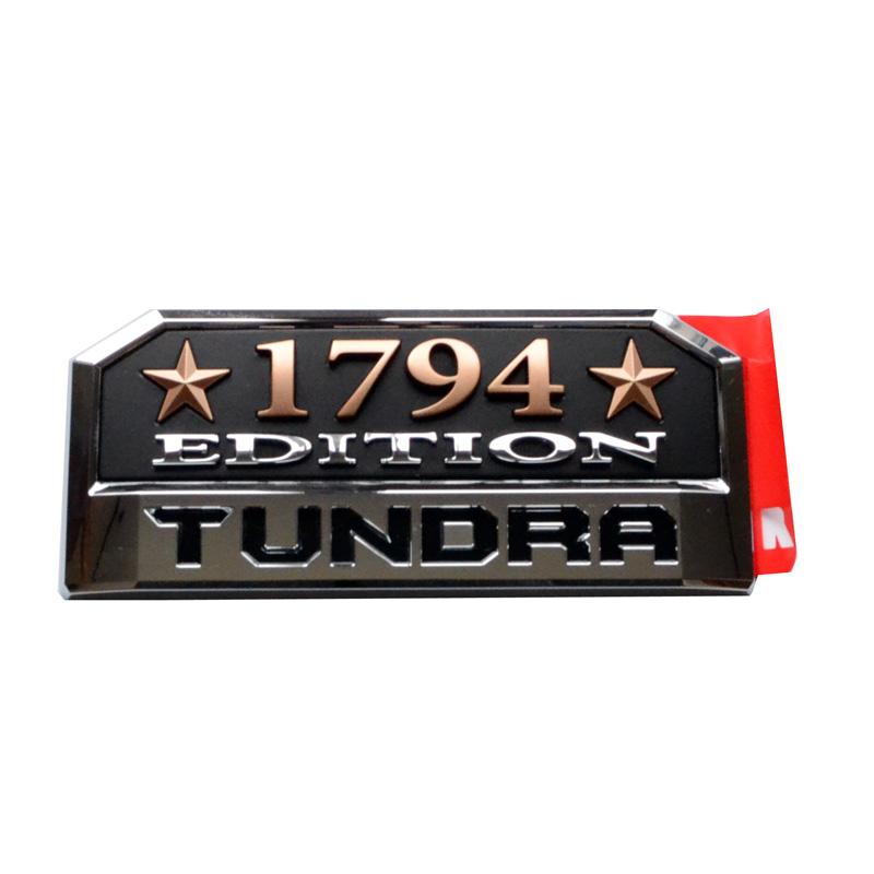 【USトヨタ 直輸入純正品】 Tundra タンドラ 2014年 1794エディション限定 サイドエンブレム(サイドバッジ)※1個
