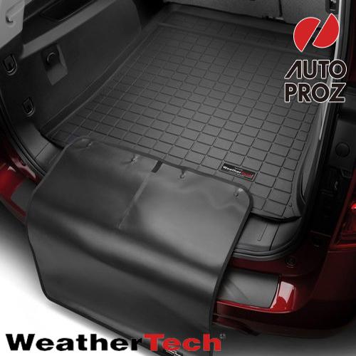 [Weathertech 正規品] トヨタ アクア 2012年式以降現行 バンパープロテクター付きカーゴライナー ブラック