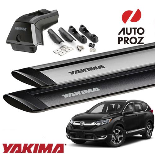 [YAKIMA 正規品] ホンダ RT5/6型 CR-V フラッシュレール/フィックスポイント付き車両に適合 (スカイラインタワー・ランディングパッド19・ジェットストリームバーS)