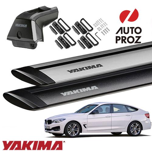 [YAKIMA 正規品] BMW 3シリーズグランツーリスモ F34型 フィックスポイント付き車両に適合 (スカイラインタワー・ランディングパッド22・ジェットストリームバーS)