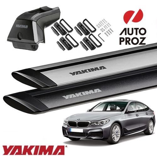 [YAKIMA 正規品] BMW 6シリーズグランツーリスモ G32型 フィックスポイント付き車両に適合 (スカイラインタワー・ランディングパッド22・ジェットストリームバーM)