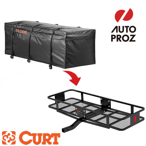 Curt Cart Waterproof Water Resistant Hitch Cargo Carrier Bag 12 25 Cft