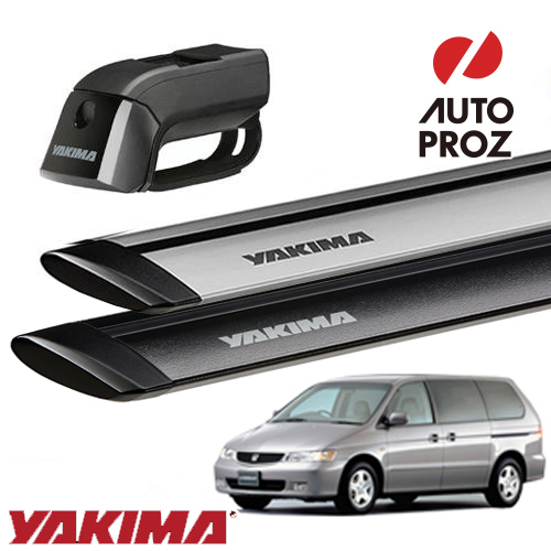 [YAKIMA 正規品] ホンダ ラグレイト RL1型 ルーフレール有り車両に適合 ベースキャリアセット (ティンバーライン・ジェットストリームバーS)