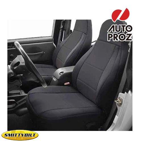 Astounding Smittibilt Smittybilt Jeep Jeep Tj Wrangler Tj Wrangler 1997 2002 Neoprene Seat Covers Front And Rear Set Black Dailytribune Chair Design For Home Dailytribuneorg