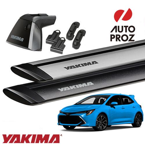 [YAKIMA 正規品] トヨタ カローラスポーツに適合 ベースラックセット (ベースライン・ベースクリップ129,131・ジェットストリームバーS)