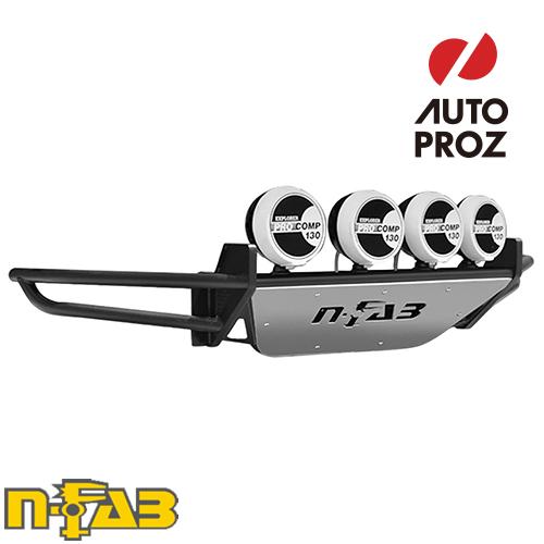【USエヌファブ 直輸入正規品】 n-Fab シボレー 1500 2007-2013年式 PreRunner フロントバンパー LEDライトマウント付き ツヤなしブラック