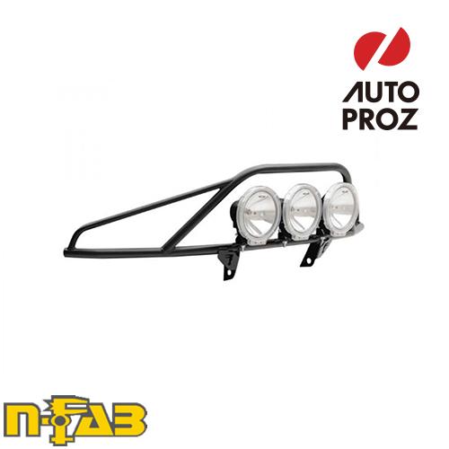 【USエヌファブ 直輸入正規品】 n-Fab シボレー 1500 2007-2013年式 PreRunner ライトマウント ツヤなしブラック