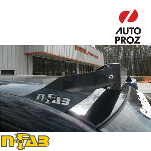 【USエヌファブ 直輸入正規品】 n-Fab シボレー GMC 1500/2500/3500 1988-1998年式 ルーフライトマウント 49シリーズ ツヤなしブラック