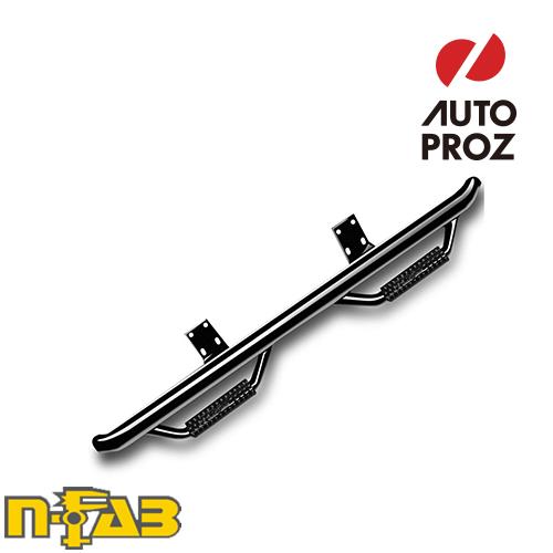【USエヌファブ 直輸入正規品】 n-Fab シボレー GMC 1500 クルーキャブ 2014-2017年式 ナーフステップ ツヤありブラック