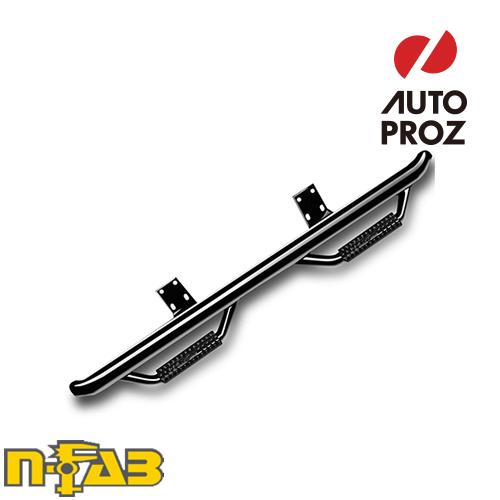 【USエヌファブ 直輸入正規品】 n-Fab シボレー GMC 1500 ダブルキャブ 2014-2017年式 ナーフステップ ツヤありブラック