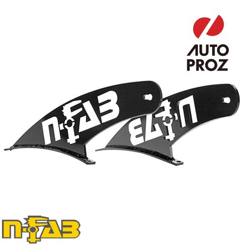 【USエヌファブ 直輸入正規品】 n-Fab フォード F150/ラプター 2009-2014年式 ルーフライトマウント 49シリーズ ツヤありブラック