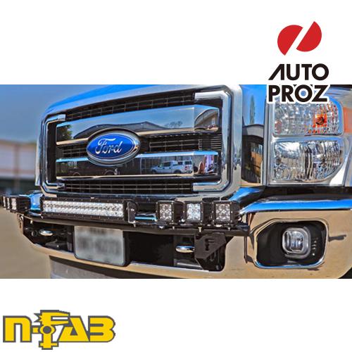 【USエヌファブ 直輸入正規品】 n-Fab フォード F150 2015-2017年式 ライトバーマウント ツヤありブラック