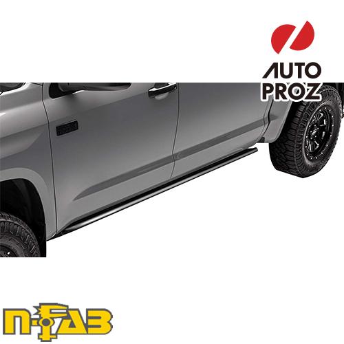 【USエヌファブ 直輸入正規品】 n-Fab フォード F150 スーパークルー 2015-2017年式 RKRレール ツヤなしブラック