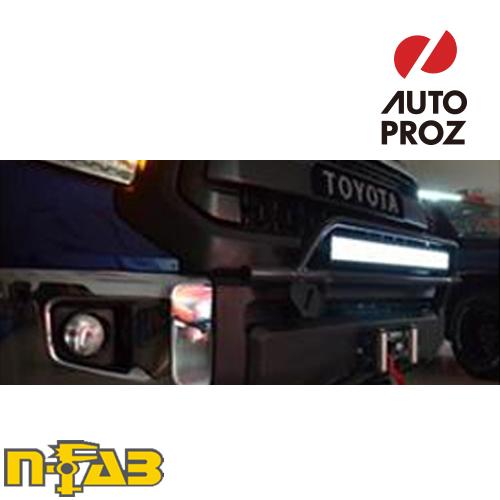 【USエヌファブ 直輸入正規品】 n-Fab フォード F250/F350 Super Duty/エクスカージョン 1999-2007年式 O.R. ライトマウント ツヤなしブラック