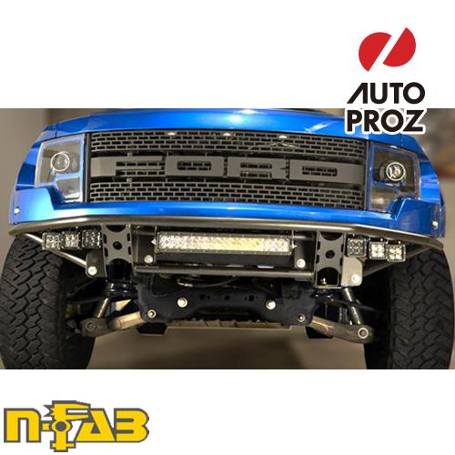 【USエヌファブ 直輸入正規品】 n-Fab フォード ラプター 2010-2014年式 RDS PreRunner フロントバンパー ツヤありブラック