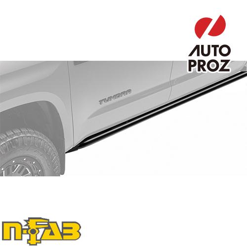 【USエヌファブ 直輸入正規品】 n-Fab Jeep ラングラー TJ 2ドア 1997-2006年式 ロックレール ツヤなしブラック