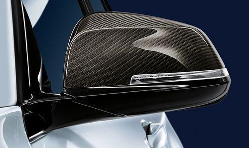 【USビーエムダブリュー直輸入純正品】BMW X1 2015年式以降 現行(平成27年式以降) F48型に適合Mパフォーマンス カーボンファイバーサイドミラーカバー※左右セット