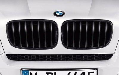 【USビーエムダブリュー直輸入純正品】BMW X1 2015年式以降 現行(平成27年式以降) F48型に適合Mパフォーマンス ブラックキドニーグリル※左右セット