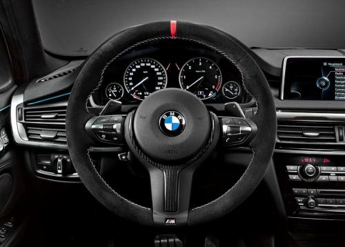 【USビーエムダブリュー直輸入純正品】BMW X5 2013年式以降 現行(平成25年式以降) F15型に適合Mパフォーマンス ステアリングホイール