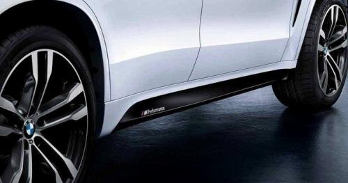 【USビーエムダブリュー直輸入純正品】BMW X5 2013年式以降 現行(平成25年式以降) F15型に適合Mパフォーマンス ロッカーパネルデカール