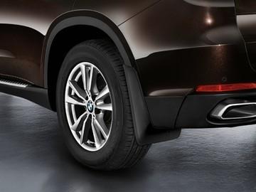 【USビーエムダブリュー直輸入純正品】BMW X5 2013年式以降 現行(平成25年式以降) F15型に適合20インチ/21インチホイール用マッドガード/スプラッシュガード(泥除け) ※フロント リア4ピース