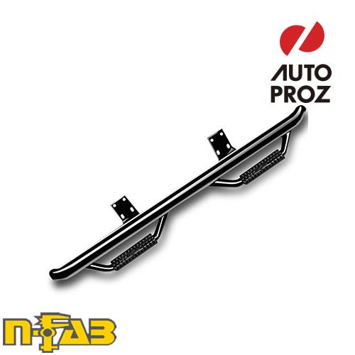 【USエヌファブ 直輸入正規品】 n-Fab ダッジ ラム メガキャブ 2006-2009年式 ナーフステップ ツヤありブラック