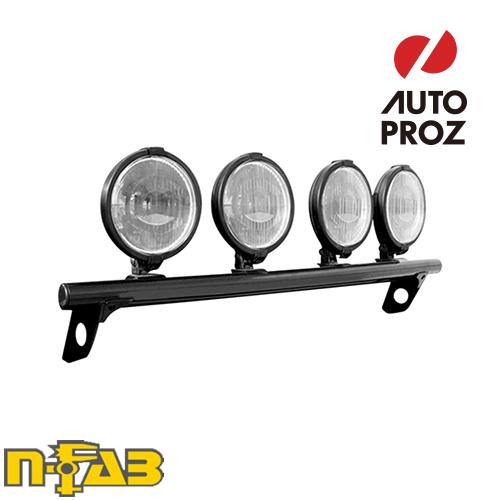 【USエヌファブ 直輸入正規品】 n-Fab フォード F150/ラプター 2009-2014年式 ライトバーマウント ツヤなしブラック