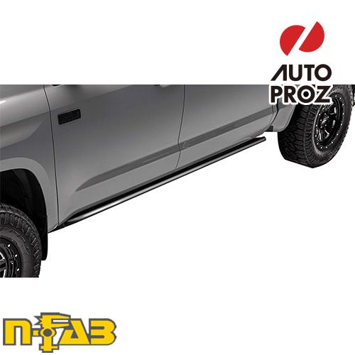 【USエヌファブ 直輸入正規品】 n-Fab フォード F150/ラプター スーパークルー 2009-2014年式 RKRレール ツヤなしブラック