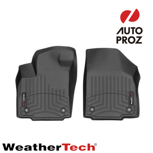 [Weathertech 正規品] トヨタ ハイラックスRevo 2004-2015年式 1列目 右ハンドル用 フロアマット/フロアライナー ブラック
