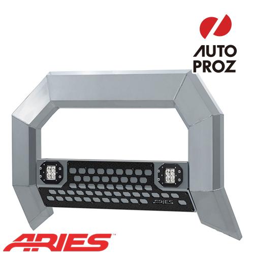 [USアリーズ 直輸入正規品] Aries ダッジ ラム 1500 2009年式以降現行 ADVANTEDGEシリーズ LEDブルバー クロム