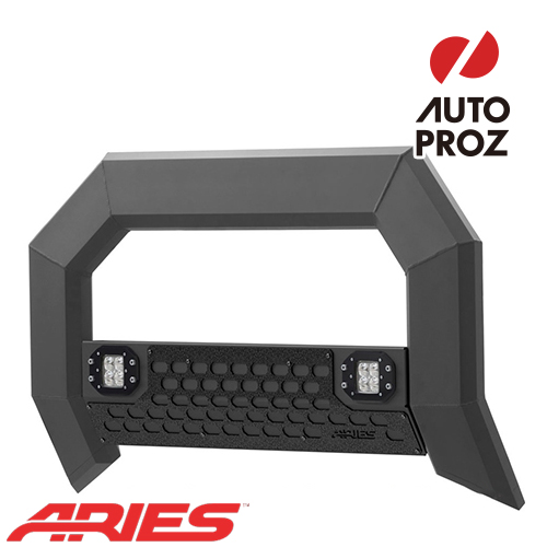[USアリーズ 直輸入正規品] Aries フォード F-150 2004年式以降現行 ADVANTEDGEシリーズ LEDブルバー ブラック