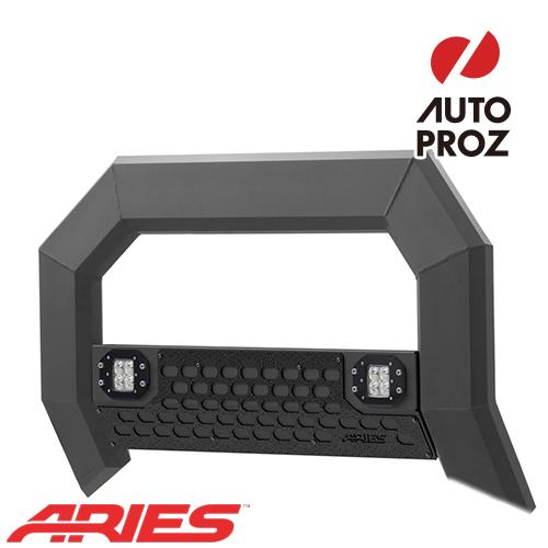 [USアリーズ 直輸入正規品] Aries シボレー GMC シルバラード/シエラ 1500 2007年式以降現行 ADVANTEDGEシリーズ LEDブルバー ブラック