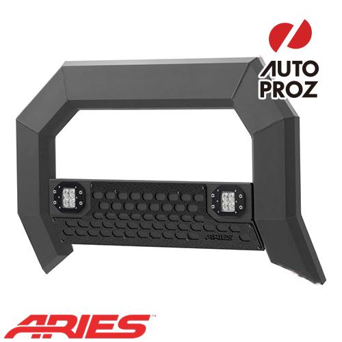 [USアリーズ 直輸入正規品] Aries ダッジ ラム 1500 2009年式以降 現行 ADVANTEDGEシリーズ LEDブルバー ブラック