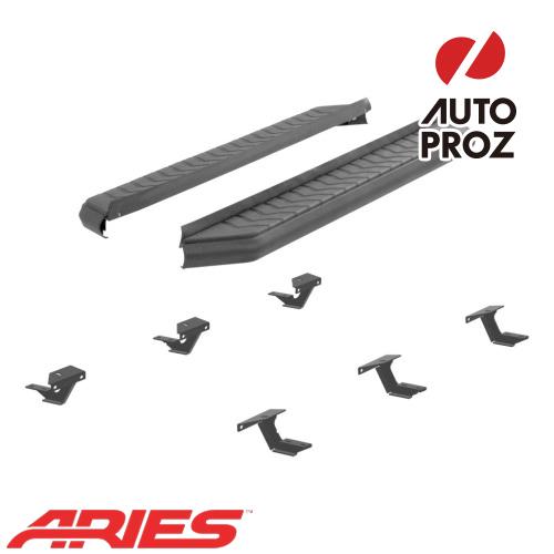 [USアリーズ 直輸入正規品] Aries ジープ グランドチェロキー 5インチ ランニングボード/サイドステップ ブラック