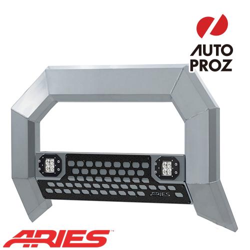 [USアリーズ 直輸入正規品] Aries シボレー GMC シルバラード/シエラ 1500 2007年式以降現行 ADVANTEDGEシリーズ LEDブルバー クロム