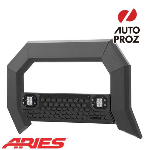 [USアリーズ 直輸入正規品] Aries フォード F-250/350/450/550 2011-2016年式 ADVANTEDGEシリーズ LEDブルバー ブラック