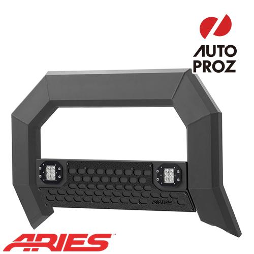 [USアリーズ 直輸入正規品] Aries シボレー GMC シルバラード/シエラ 2500/3500 2009年式以降 現行ADVANTEDGEシリーズ LEDブルバー ブラック