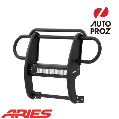 [USアリーズ 直輸入正規品] Aries ジープ JKラングラー PROシリーズ グリルガード LEDライトバーセット