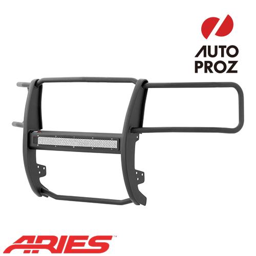 [USアリーズ 直輸入正規品] Aries シボレー シルバラード 1500 2007-2013年式 PROシリーズ グリルガード LEDライトバーセット