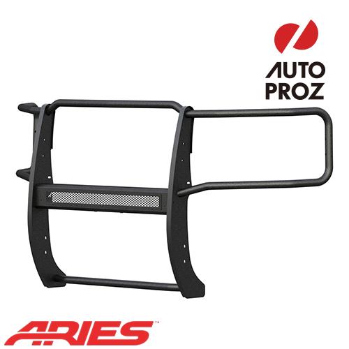 [USアリーズ 直輸入正規品] Aries シボレー GMC シルバラード/シエラ 2500/3500 2015年式以降現行 PROシリーズ グリルガード LEDライトバーセット