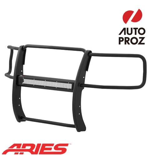 [USアリーズ 直輸入正規品] Aries シボレー GMC シルバラード/シエラ 1500 2014-2016年式 PROシリーズ グリルガード LEDライトバーセット