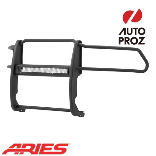 [USアリーズ 直輸入正規品] Aries ダッジ ラム 1500 2009年式以降現行 PROシリーズ グリルガード LEDライトバーセット