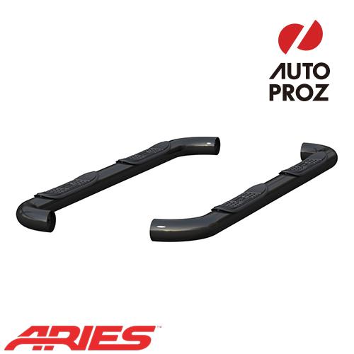 [USアリーズ 直輸入正規品] Aries フォード フォード F-250/350 スーパーキャブ 1999-2016 年式 サイドステップ 3インチ ブラック