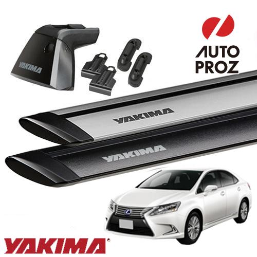[YAKIMA 正規品] レクサス HS250hに適合 ベースラックセット (ベースライン・ベースクリップ175,167・ジェットストリームバーS)