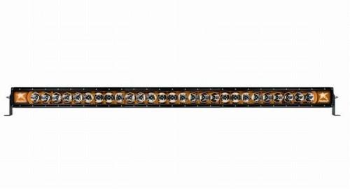[US直輸入正規品] RIGID INDUSTRIES リジッドインダストリー Radiance ラディエンス 50インチ アンバーバック(オレンジ)LEDライトバー (色:ホワイト) ※1個