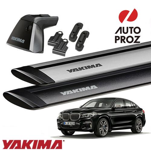 [YAKIMA 正規品] BMW X4 G02型 2018年式以降 ベースキャリアセット (ベースライン・ベースクリップ135,161・ジェットストリームバーM)